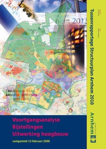 tussenrapportage structuurplan februari 2006.pdf - Gemeente Arnhem