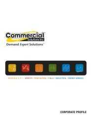Our corporate motto - Commercial Solutions Inc