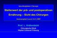 Nutrition & Surgery - Astrazenecafocus.ch