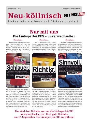 Ausgabe 8 - DIE LINKE. Neukölln