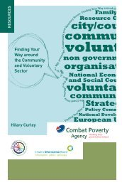 Finding Your Way Around The Community & Voluntary Sector (2007)