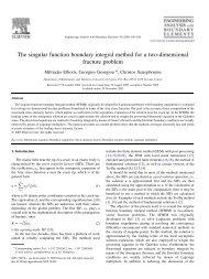 The singular function boundary integral method for a - University of ...