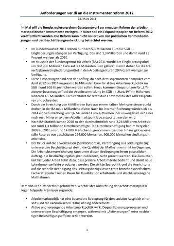 ver.di arbeitsmarktpolitische Instrumente (pdf-Datei) - Netzwerk ...