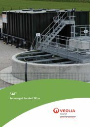 Submerged Aerated Filter - Veolia Water Solutions & Technologies