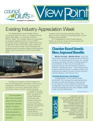 Existing Industry Appreciation Week - Council Bluffs Area Chamber ...