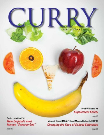 Supplement Safety Changing the Face of School ... - Curry College