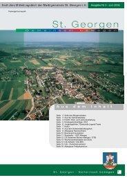 blumenschmuckaktion - St. Georgen im Attergau