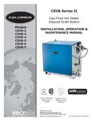 CSVB Series II - Columbia Heating