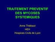 (7) Autres pathologies* .012 .048 P, chi² 16 - Infectiologie