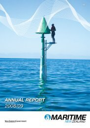 Maritime New Zealand Annual Report 2008/09