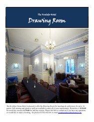 Drawing Room - Shetland Hotels