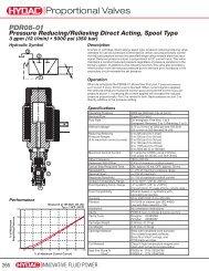 PDR08 - HYDAC USA