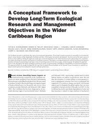 A Conceptual Framework to Develop Long-Term ... - BioOne