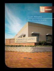CLAY PAVERS - Thompson Building Materials