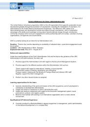 View associated PDF document - United Nations Volunteers