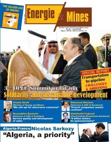 Full issue - Ministère de l'énergie et des mines