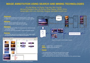 image annotation using search and mining technologies - WWW2006