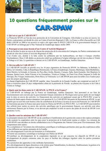 10 FAQ SPAW RAC_FR - CAR-SPAW-RAC