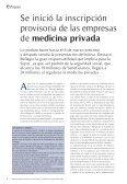 Revista Año 2 Nº 8 - Superintendencia de Servicios de Salud - Page 6