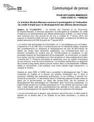 Version PDF - Finances