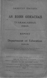 1928-1929 - Department of Education and Skills