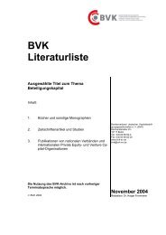 BVK Literaturliste - Factbook