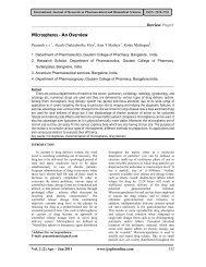 Microspheres - International Journal of Research in Pharmaceutical ...