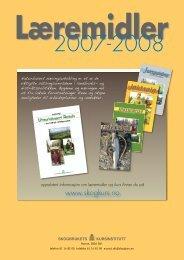 Læremidler 2007-2008 - Skogbrukets kursinstitutt