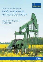 Biopolymer-Pilotprojekt in Bockstedt