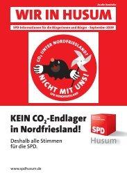 WIR IN HUSUM Sep 09.indd - SPD Ortsverein Husum