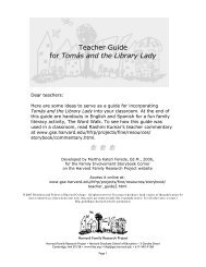 Teacher Guide PDF - Harvard Family Research Project