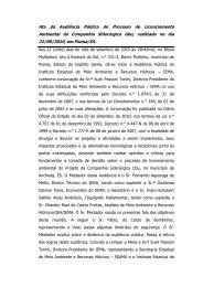 Companhia Siderúrgica Ubu Audiência Pública realizada em Piúma ...