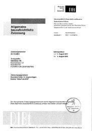 OekoTube DIBT Zulassung - Westfeuer