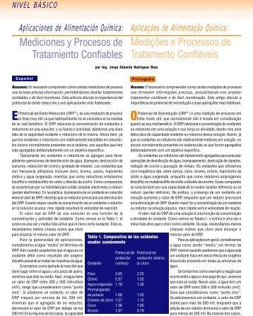 Mediciones y Procesos de Tratamiento Confiables Medições e ...