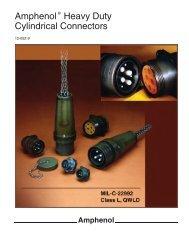 Amphenol Heavy Duty Cylindrical Connectors