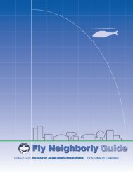 Fly Neighborly Guide - Helicopter Association International