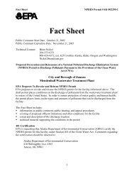 Mendenhall Fact Sheet - Environmental Protection Agency - US ...