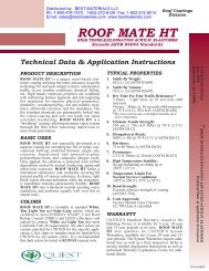 RoofMate HT - Best Materials