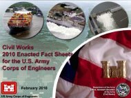 flood and coastal storm damage reduction - U.S. Army Corps of ...