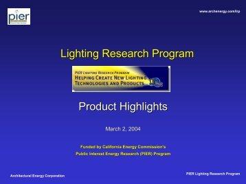 IFMA Presentation - Architectural Energy Corporation