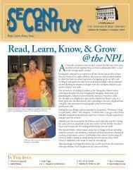Volume 20, Number 3 (October 2009) - Newark Public Library