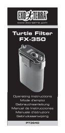 Turtle Filter FX-350 - Exo Terra