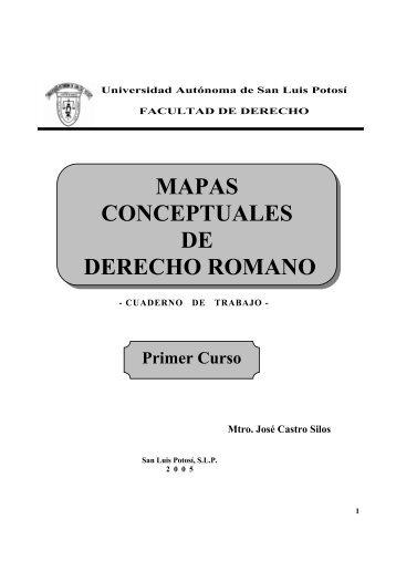 mapas conceptuales de derecho romano - Derecho Penal en la Red