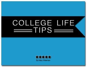 ADDENDUM colleGe life tips - Mary Wiseman Design