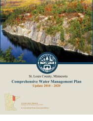 Comprehensive Water Management Plan - St. Louis County