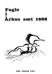 Fugle i Århus Amt 1988
