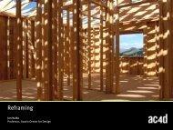 Reframing - AC4D Design Library - Austin Center for Design