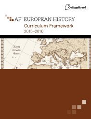 ap-european-history-curriculum-framework