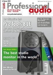 Pro Tools 8 LE - audio alchemy
