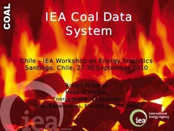 The IEA Coal Data System